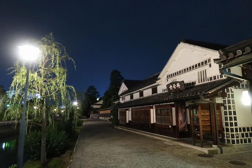 『かも井』という倉敷美観地区内の飲食店2階