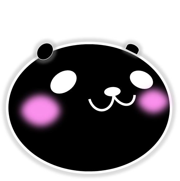 黒パンダ登場