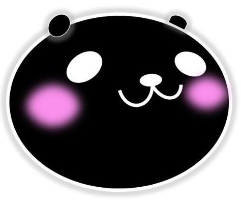 黒字がでたときのパンダ