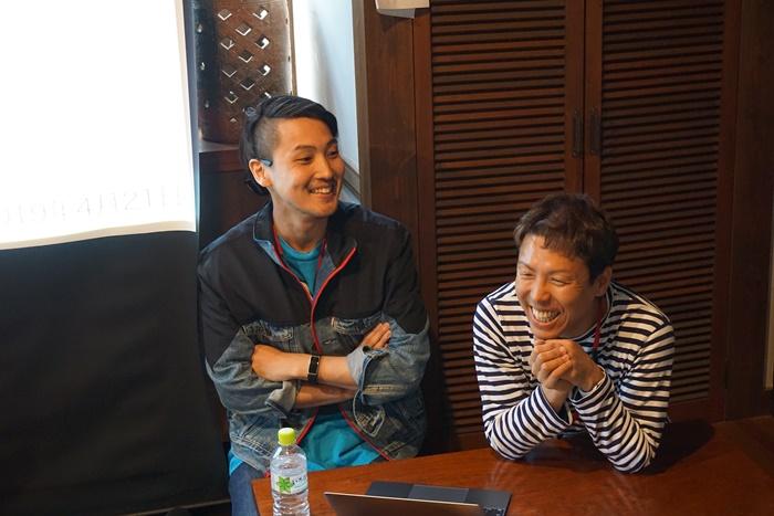 左:生川さん 右:チーさん