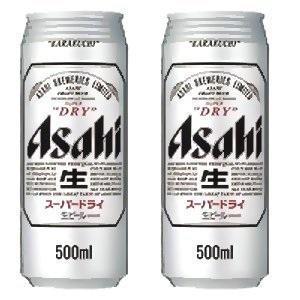 アサヒスーパードライ500ml