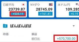 株式投資ポートフォリオ