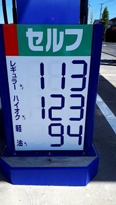 ガソリン実勢価格