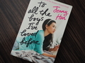All the Boys I've Loved Before カバー表
