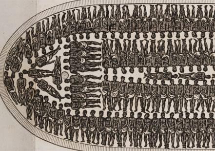 奴隷船内部ー詳細写真