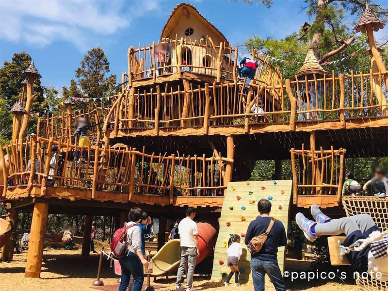 ムーミンバレーパーク 子供の遊び場 おさびし山ヘムレンさんの遊園地