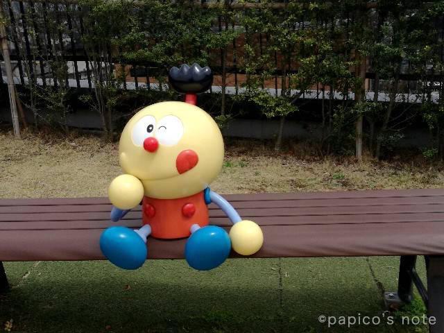 藤子不二雄ミュージアム はらっぱ コロ助ベンチ