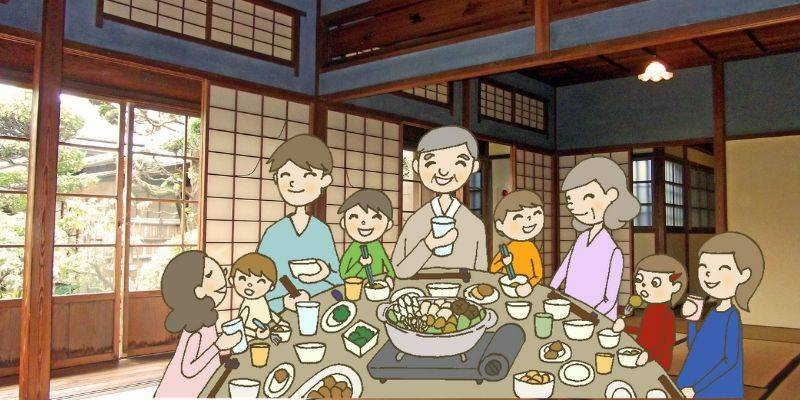 実家の親戚の集まり