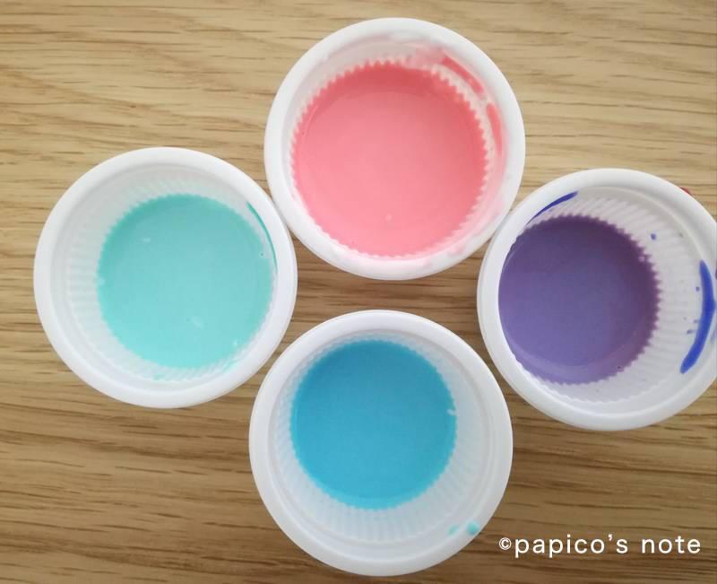 セリア  ステンドグラス工作 カラー液