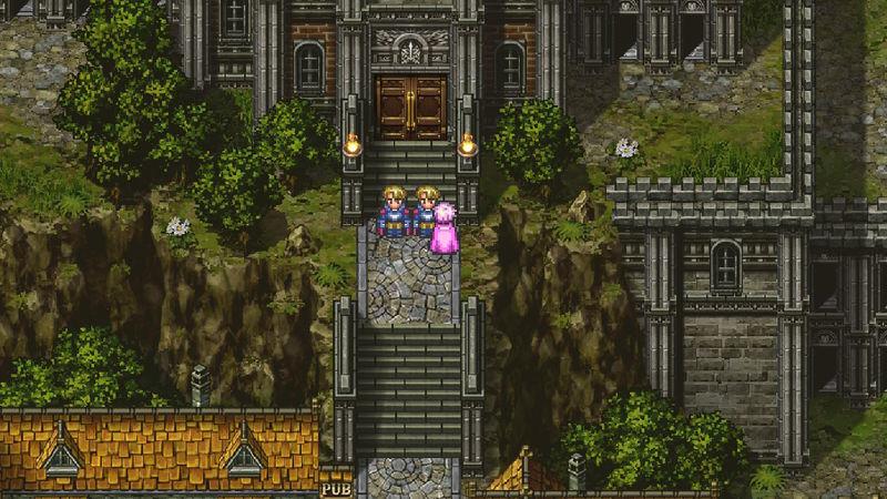 ロマサガ3 カタリナ ロアーヌ城に入れない