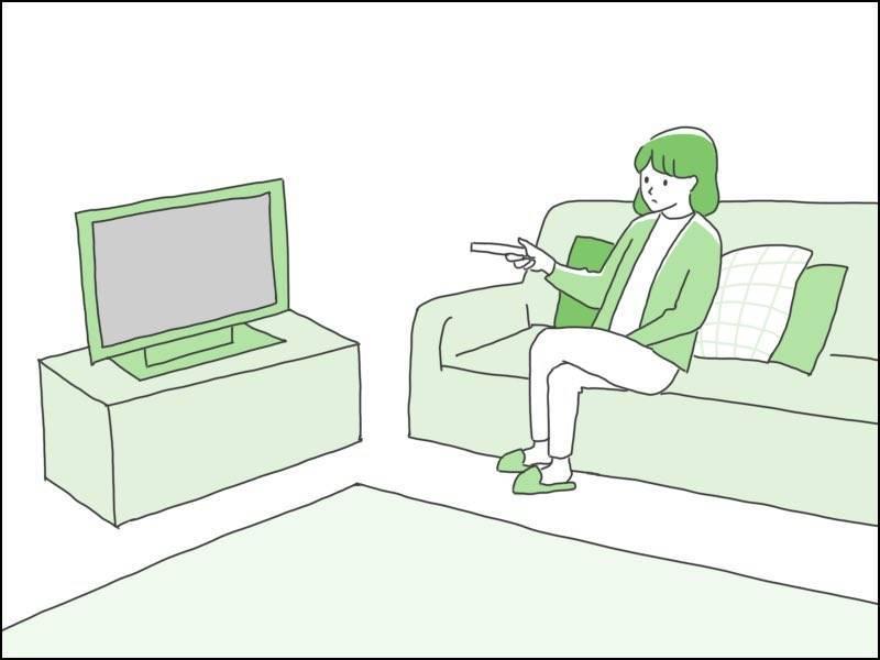 実家に帰ってもテレビ見るだけでヒマ