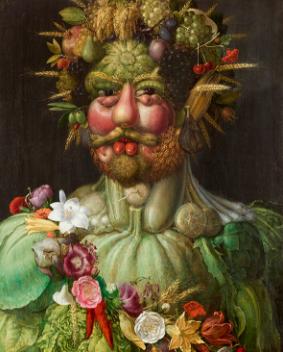 ジュゼッペ・アルチンボルド ウェルトゥムヌスとしての皇帝ルドルフ2世像