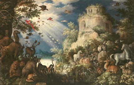 ルーラント・サーフェリー 動物に音楽を奏でるオルフェウス