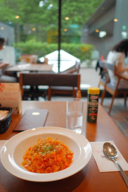 東京都美術館 cafe Art(カフェ アート)のミネストローネ・ライス