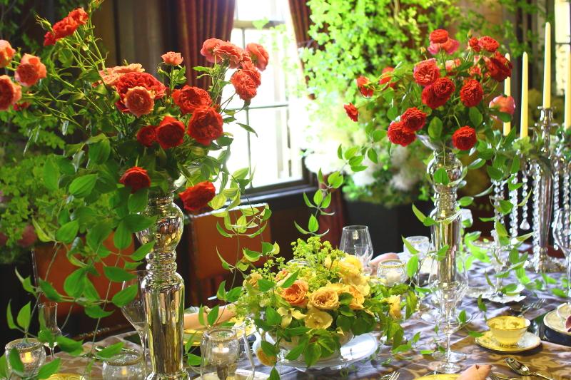 横浜山手西洋館 花と器のハーモニー2018 外交官の家