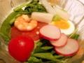 20081117 ドイツ料理カイテル 日替わりランチ サラダ