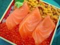 とろサーモンの喜速久の弁当1680円 北海道物産展