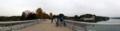 村山貯水池(多摩湖)堰堤の上 2010/11/14