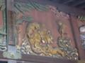 秩父神社「子宝 子育ての虎」彫刻 拡大