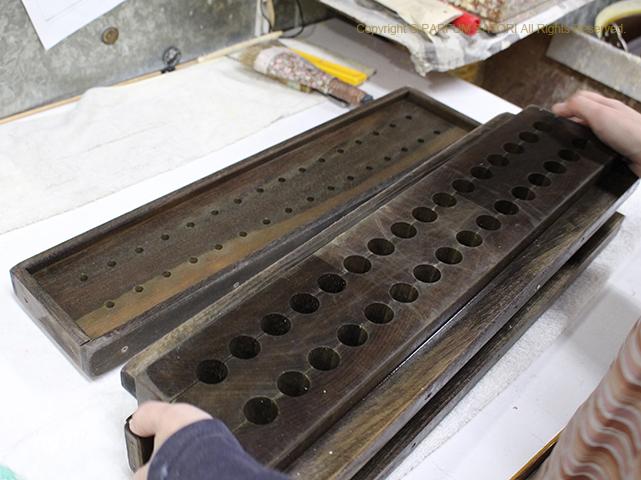171205京都 和ろうそく なかむら 蝋型.jpg