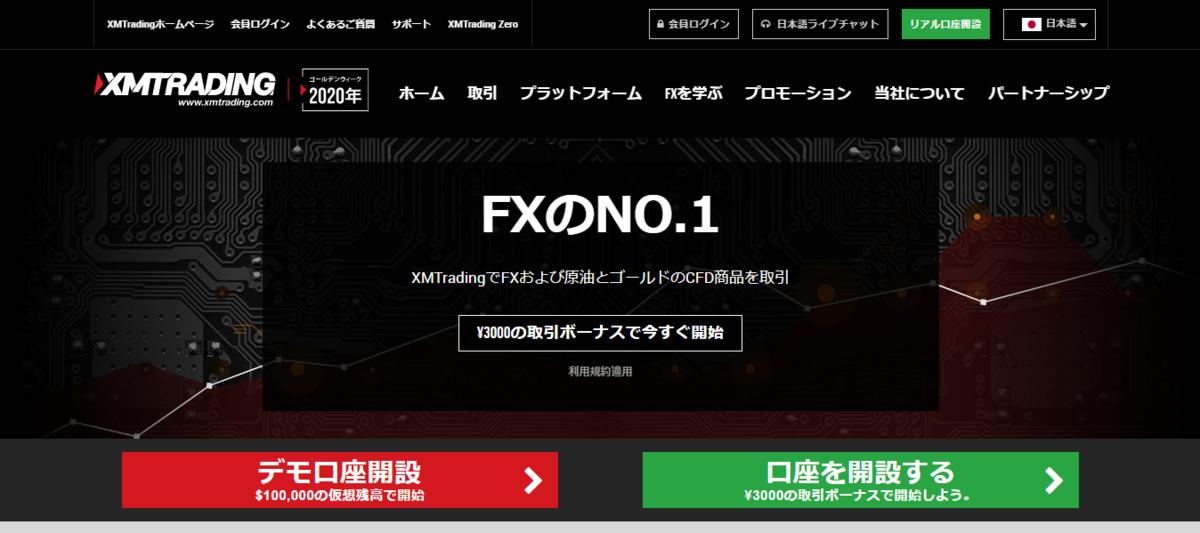 海外FXブローカーXMトレーディング