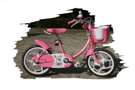 補助輪卒業の自転車