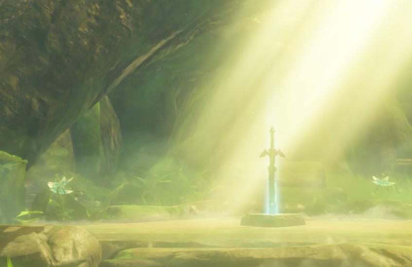 剣とコログの森