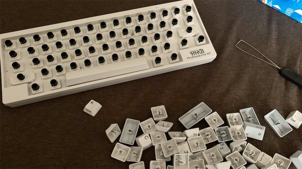cleaning-keyboard-hhkb