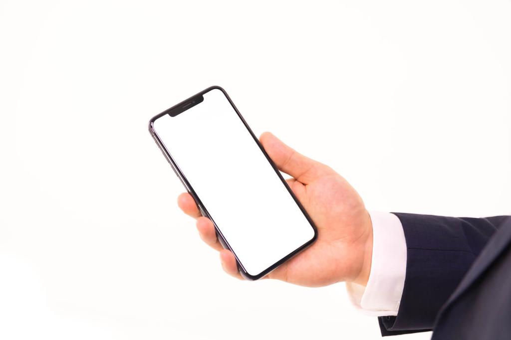 iPhone XS の画面キャプチャ