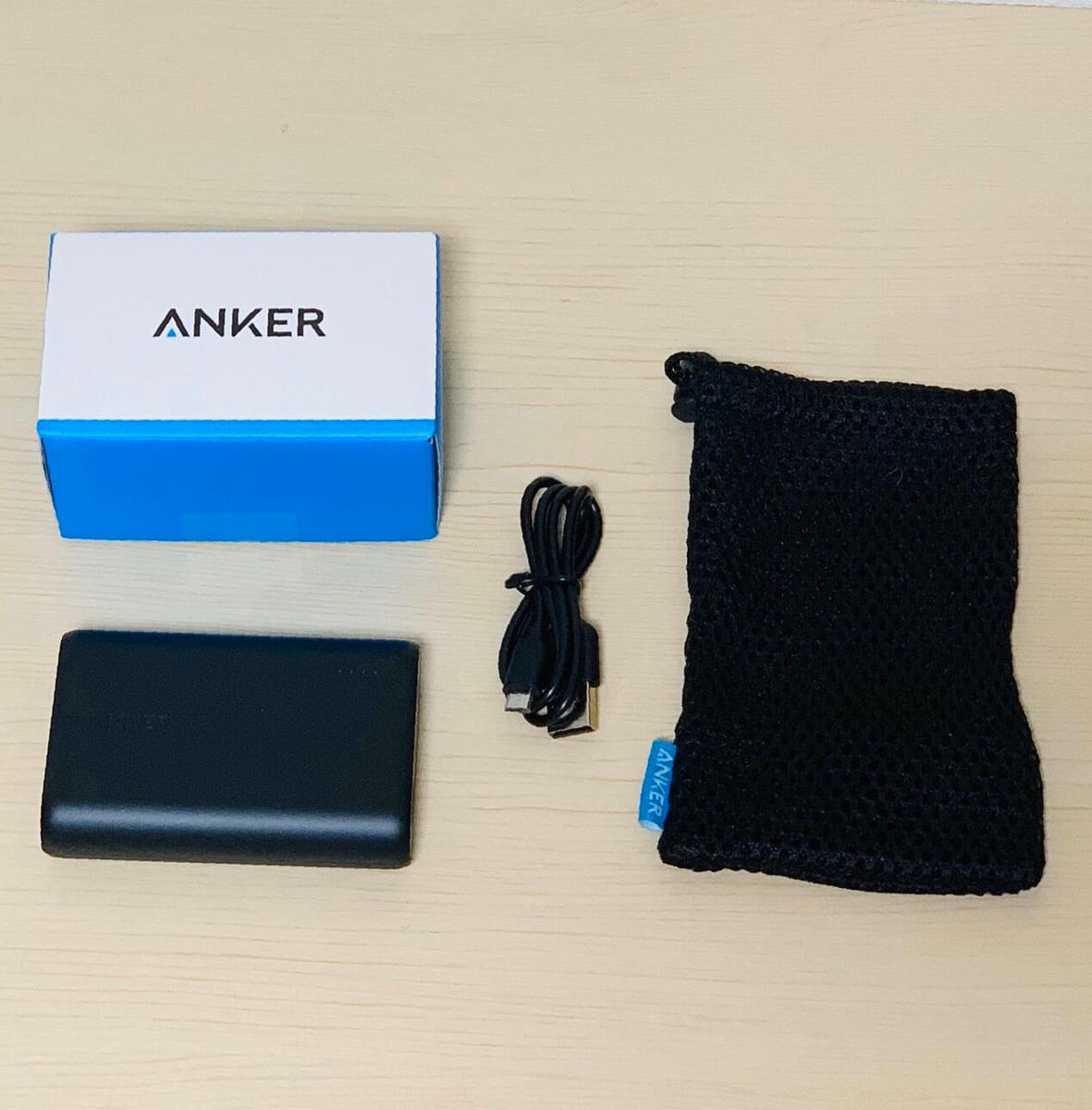 『Anker PowerCore 10000』買ってみたよ!