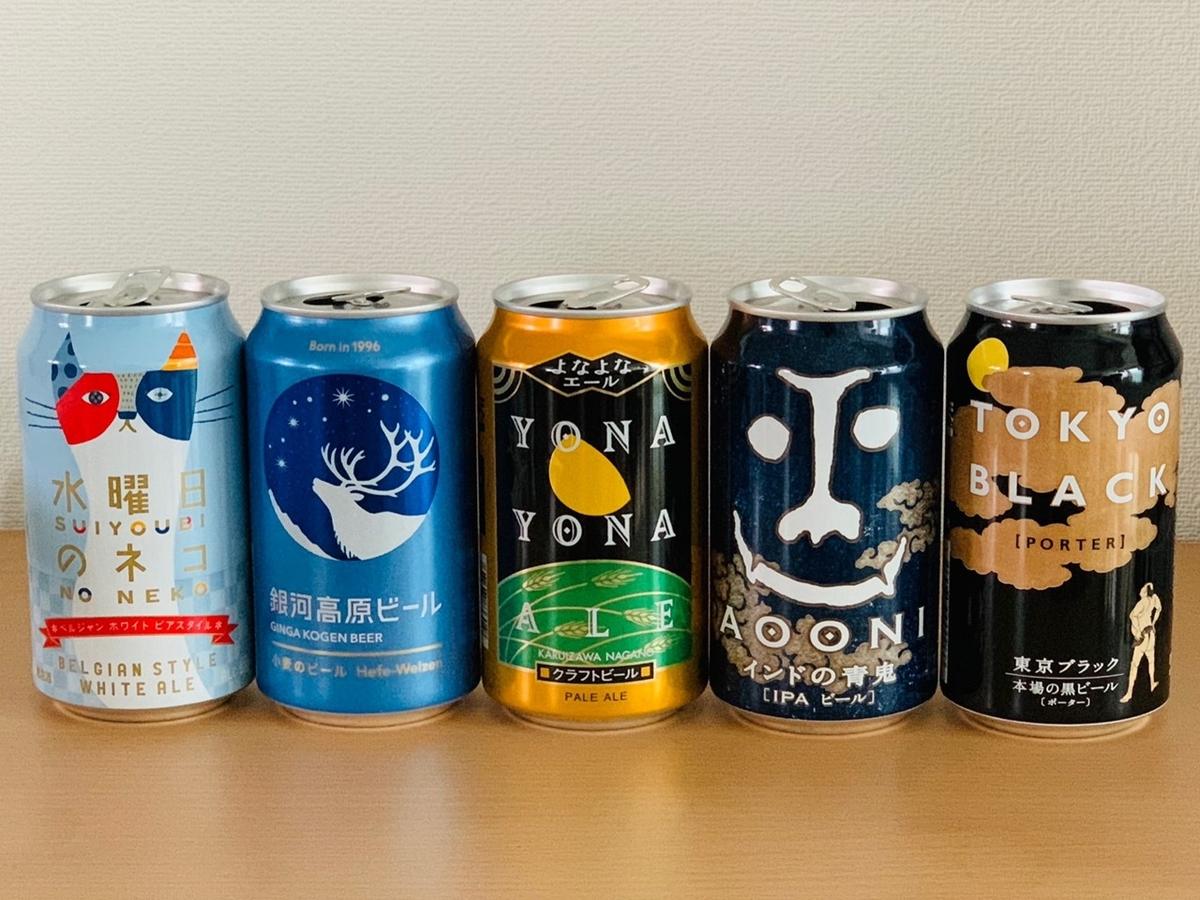 クラフトビールの種類