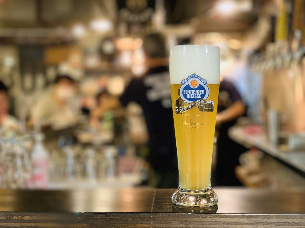 ドイツビール祭の時はドイツビールの種類も豊富