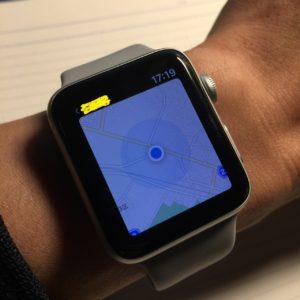 Apple Watch で現在地を確認