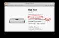 Mac mini Late 2012 16GBにメモリ増設後の様子
