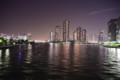 デジイチ初心者がNikon D610で撮影した写真(夜景1 隅田川永代橋から見た