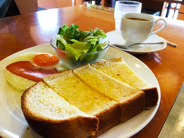 朝食の余裕