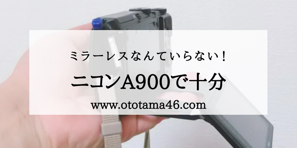 ニコンA900