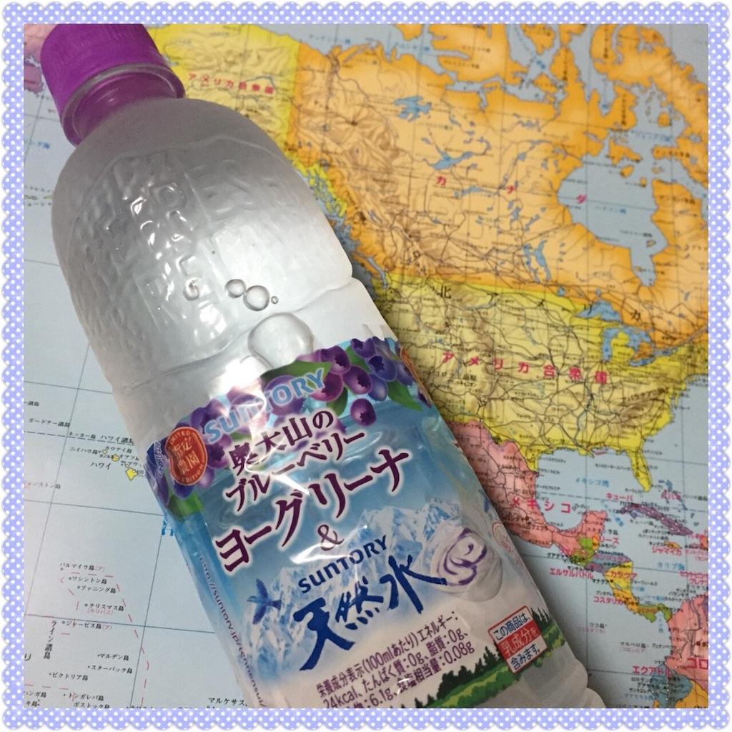 奥大山のブルーベリーヨーグリーナ&天然水
