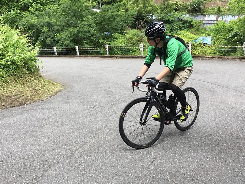 2018年6月時坂峠 当時乗っていたGAN-RS