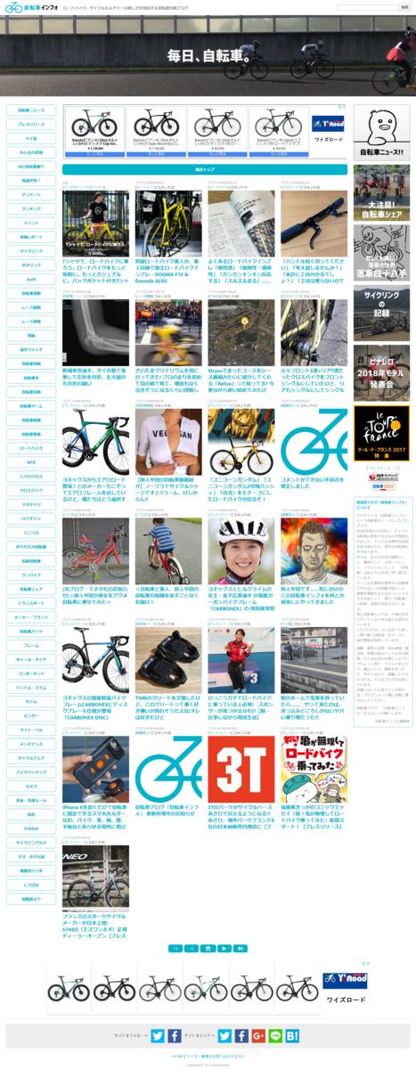 自転車インフォ