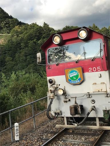 井川線南アルプスあぷとラインのトロッコ列車