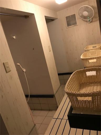 長瀞オートキャンプ場の女性専用シャワールーム