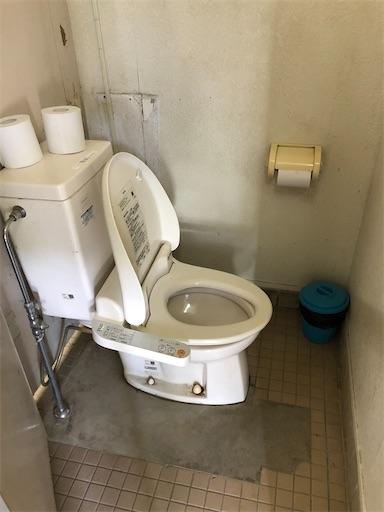 青野原オートキャンプ場のトイレ