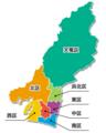 浜松市の行政区画