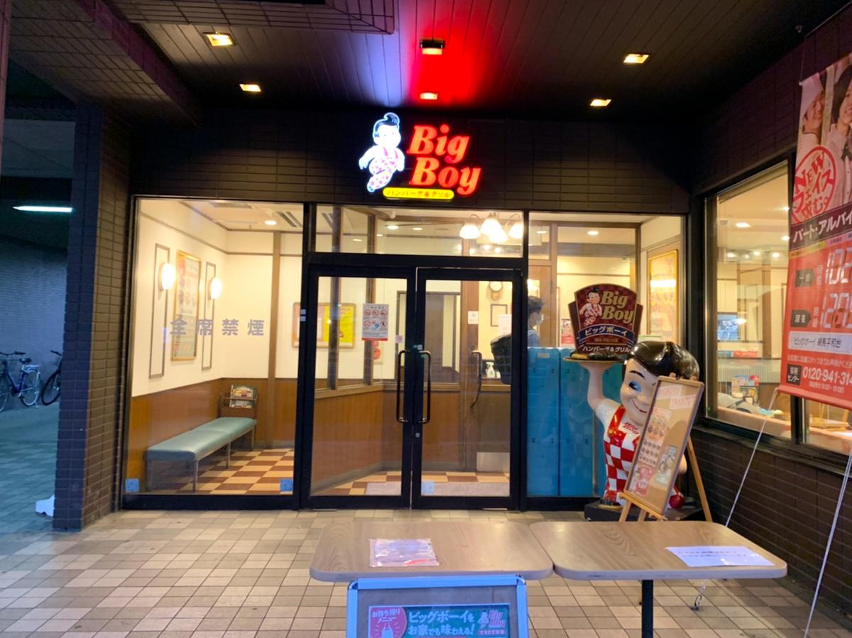 ビッグボーイ 練馬平和台店
