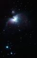 遊星號による直焦点撮影(オリオン大星雲 iso-1600 240s)