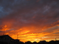 [photo][pema]近所の夕焼け