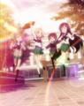[anime][Aチャンネル][トオル][るん][ユー子][ナギ(Aチャンネル)][あし][集合絵]