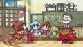 [anime][えん魔くん][雪子姫][不動ハルミ]