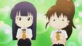[anime][gif][WORKING!!][種島ぽぷら][山田葵][もぐもぐ]